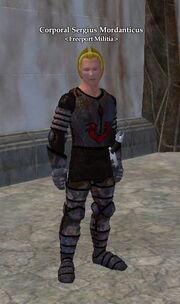 Corporal Sergius Mordanticus
