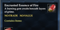 Encrusted Essence of Fire