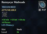 Runnyeye Warbeads