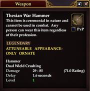 Thexian War Hammer