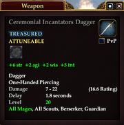 Ceremonial Incantators Dagger