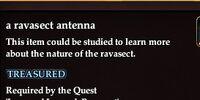 A ravasect antenna