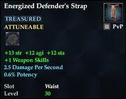 Energized Defender's Strap