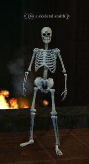 A skeletal smith