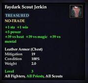 Faydark Scout Jerkin