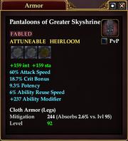 Pantaloons of Greater Skyshrine