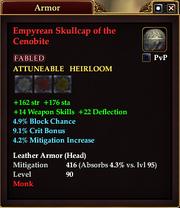Empyrean Skullcap of the Cenobite