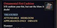 Ornamental Fist Cushion