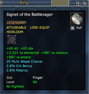 Signet of the Battlerager