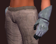 Theist's Shaped Plate Gloves (Equipped)