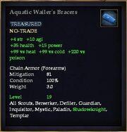 Aquatic Wailer's Bracers