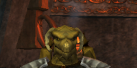 An alert Scaleborn sentry