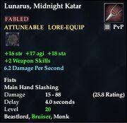 Lunarus, Midnight Katar