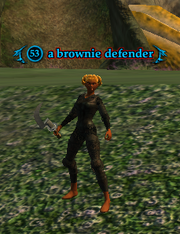 A brownie defender (heroic)