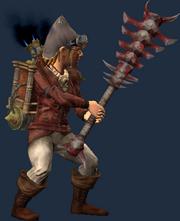 Bone-Handled Greatclub (Equipped)