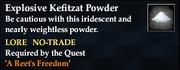ExplosiveKefitzatPowder