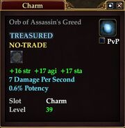 Orb of Assassin's Greed