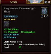 Resplendent Thaumaturge's Shoes