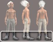 Sensei's Foot Wraps (Equipped)