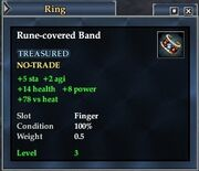 Rune-covered Band