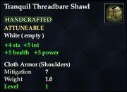 Tranquil Threadbare Shawl