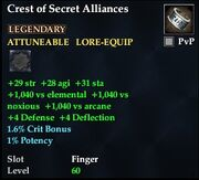 Crest of Secret Alliances