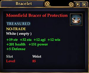 Moonfield Bracer of Protection