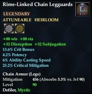 Rime-Linked Chain Legguards
