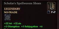 Scholar's Spellwoven Shoes