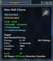 Mess Hall Cleaver