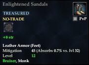 Enlightened Sandals