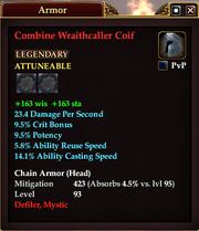 Combine Wraithcaller Coif