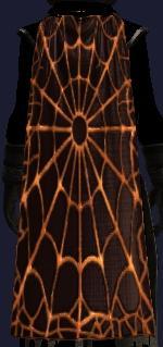 Sinister web spider cloak (Visible)
