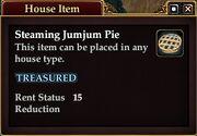 Steaming Jumjum Pie