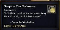 Trophy: The Darkmoon Crescent