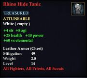 Rhino Hide Tunic