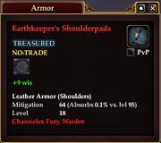 Earthkeeper's Shoulderpads