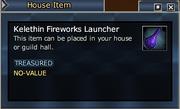 Kelethin Fireworks Launcher