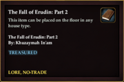 The Fall of Erudin- Part 2