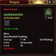 Iron Gavel