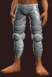 Knight's Polished Legplates (Equipped)