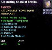 Resonating Shard of Enoxus