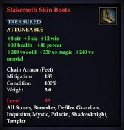 Slakemoth Skin Boots