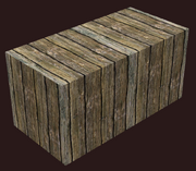 Half Block of Elm (Visible)