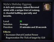 Nyla's Holiday Eggnog