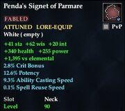 Penda's Signet of Parmare