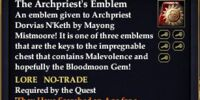 The Archpriest's Emblem