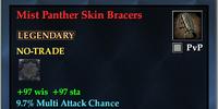 Mist Panther Skin Bracers