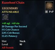 Razorhoof Chain