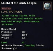 Shield of the White Dragon